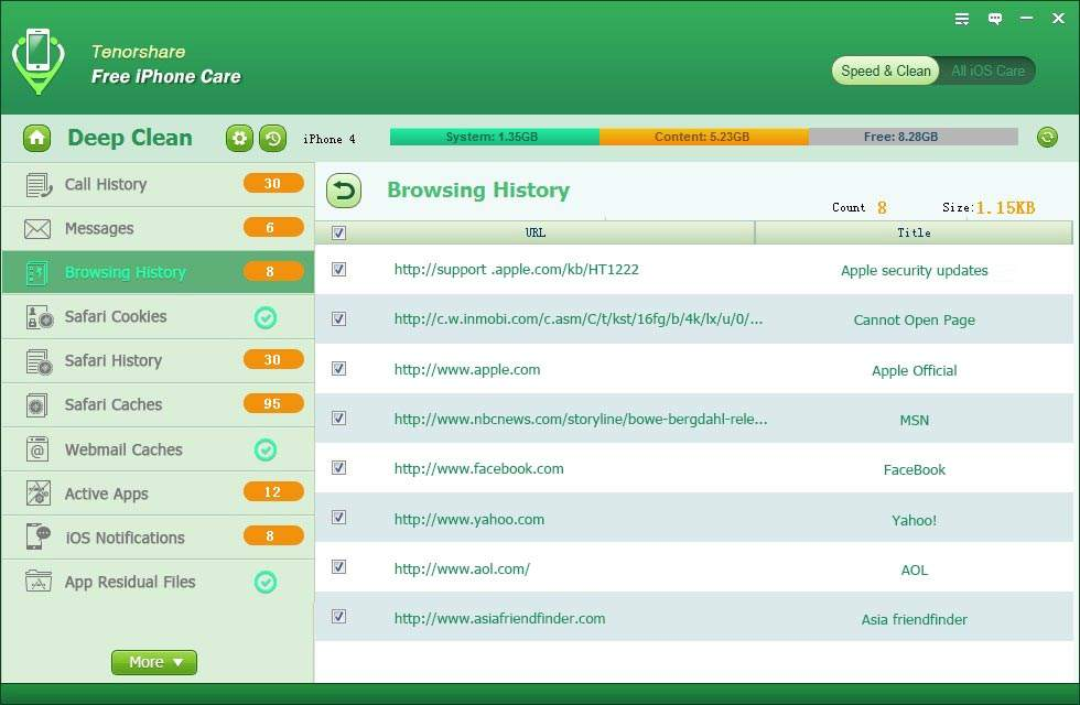 how to delete ipad junk files