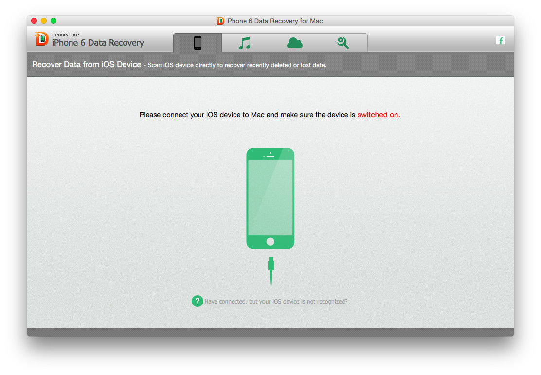 link iphone to mac iphone 6 data recovery for mac guide how to retrieve lost 5351