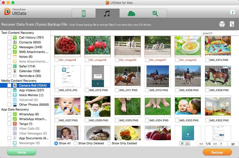 extract photos from itunes mac