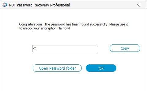 pdf password recovery tutorial