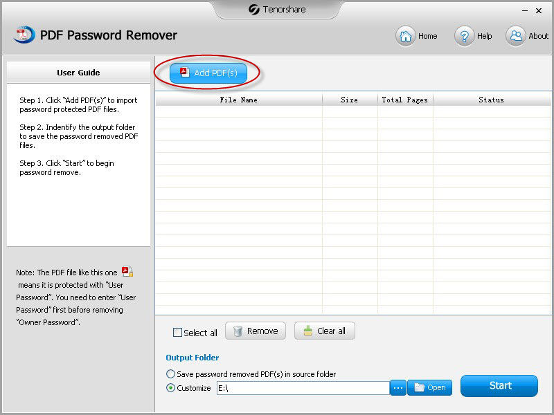 PDF Password Cracker to Crack PDF Password