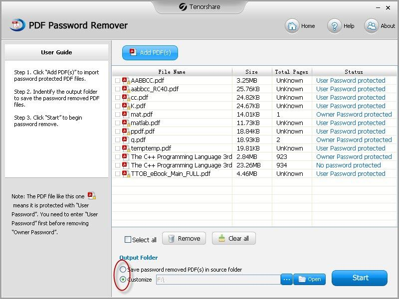 how to edit password protected pdf files
