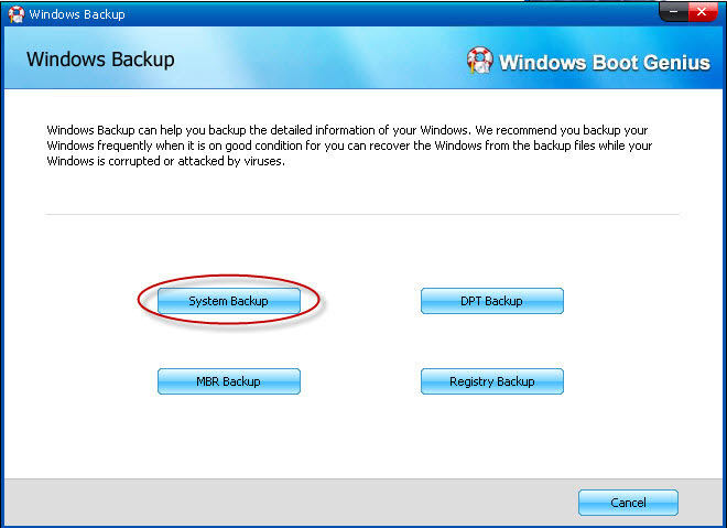 backup windows os