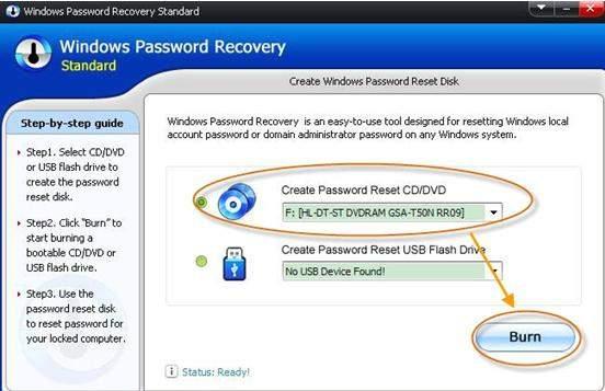 get around windows vista password