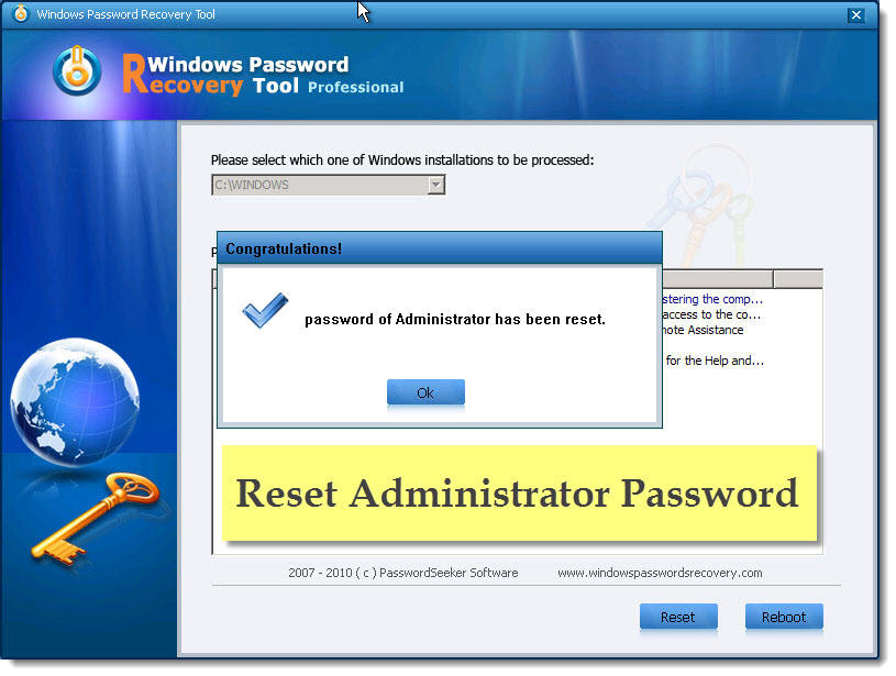 Find windows xp password in safe mode find password for Window recovery