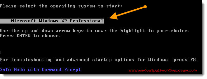 how to bypass windows xp administrator password in safe mode