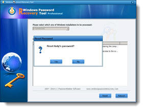 hack netbook password