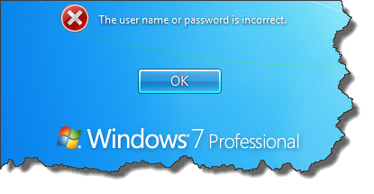 username-or password-is-incorrect