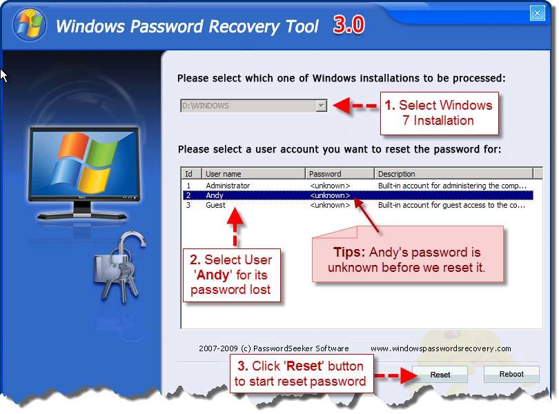 What can I do if I forgot Windows 7 Password? - GSM-Forum