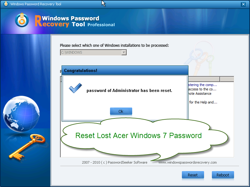 Windows password recovery tool professional full version