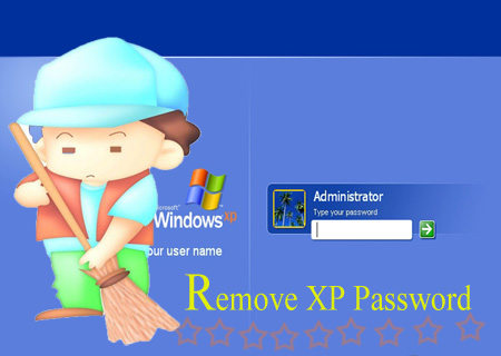 remove xp password