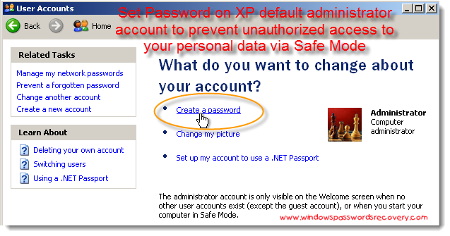 How+to+bypass+administrator+password+xp+professional