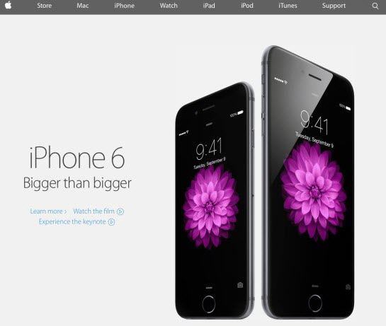 apple releases iphone 6