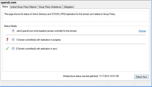 Windows Server 2012 group policy
