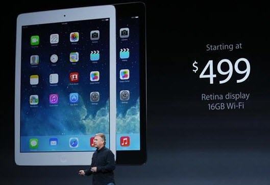 apple releases ipad air