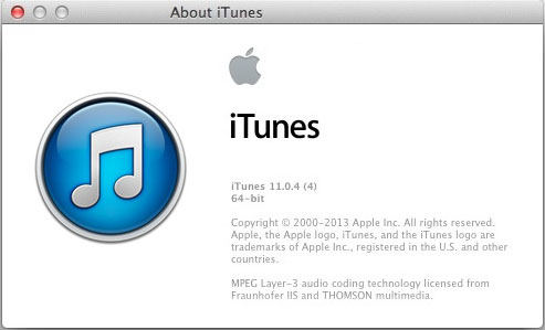 itunes 11.0.4 fix sync bugs