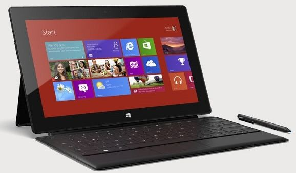 microsoft cuts surface pro tablet prices by $ 100