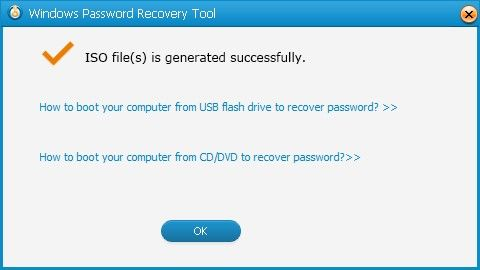 recover windows xp password