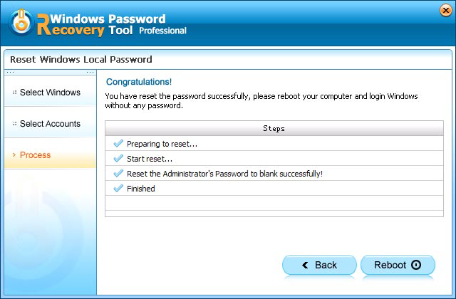 samsung series 7 password reset