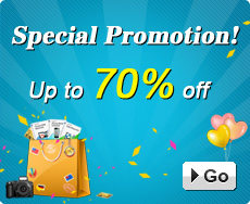 Special Promotion – Up to 70% off