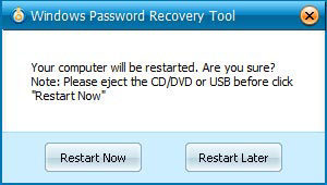recover Windows administrator password