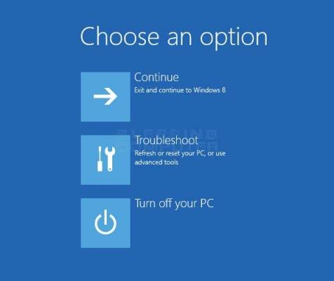 use system restore to recover windows 8