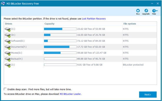 Top 3 Bitlocker Recovery Software to Recover Bitlocker