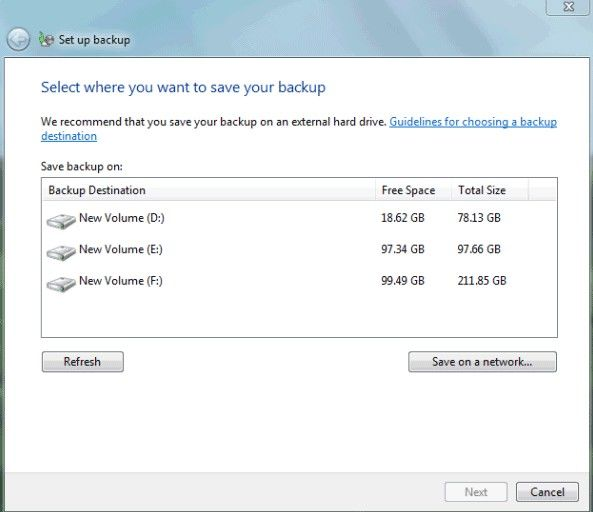 how to go to factory settings on windows 7