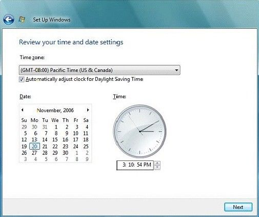 restore gateway desktop to factory settings