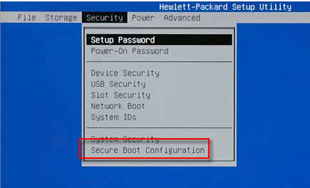 how to change boot order on hp pavilion laptop