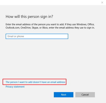 lost administrator rights in windows 10
