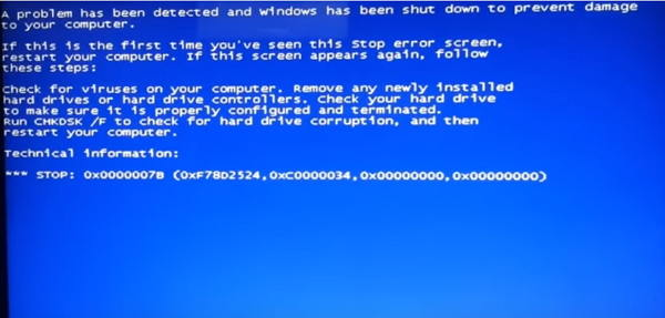 How to Fix Blue Screen When Installing Windows 7 (64-bit&32-bit)
