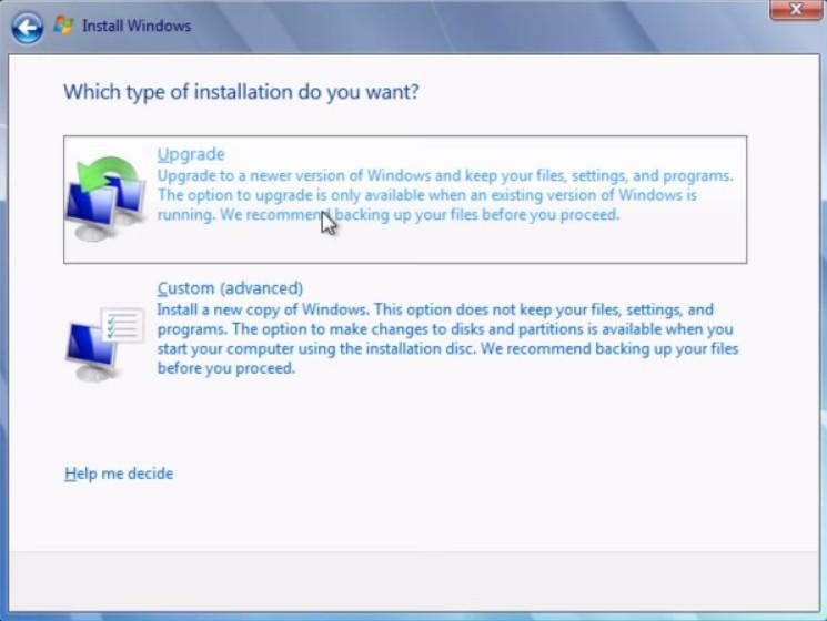 upgrade windows 8.1 32 to 64 bit