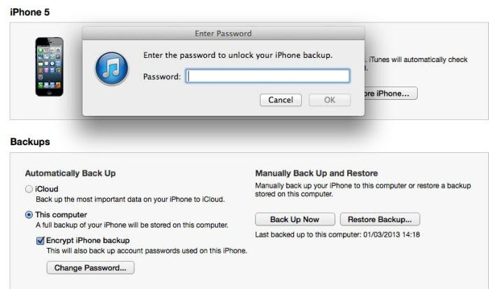 itunes backup unlocker free