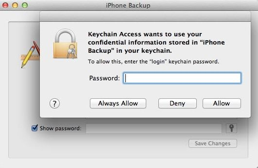 Enter The Password To Unlock Your Iphone Backup