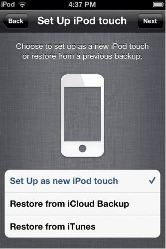 ipod backup password not working