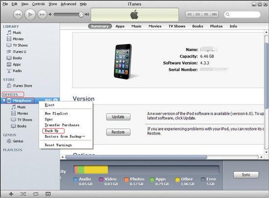 Backup icloud iphone 4 quebrada