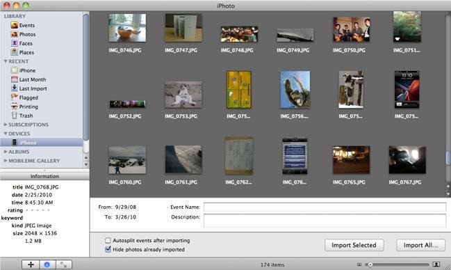 how to get camera roll from iphone to pc
