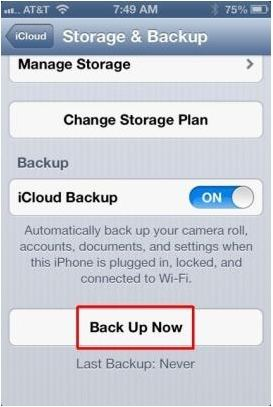 backup iphone 5 contacts without itunes