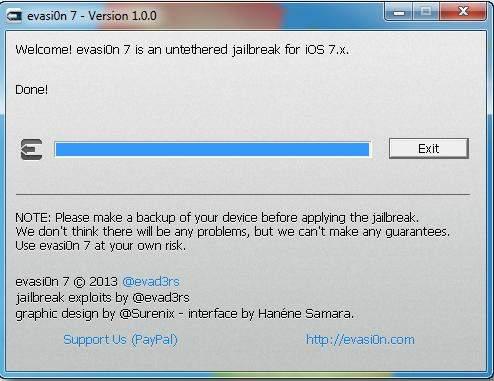 jailbreak ipod touch on ios 7