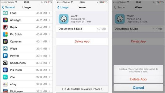 how to delete saved messages on iphone 5c
