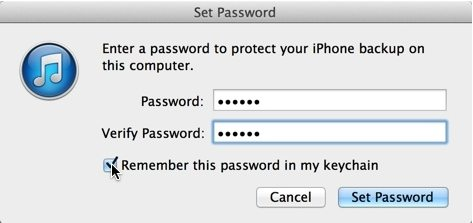 transfer email password to new iphone