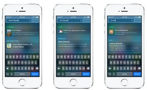 top 10 ios 8 features
