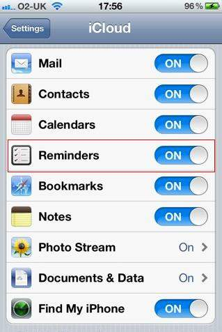 recover deleted reminders from iphone 4s