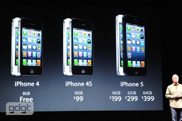 IPhone 5 Vs 4S 4