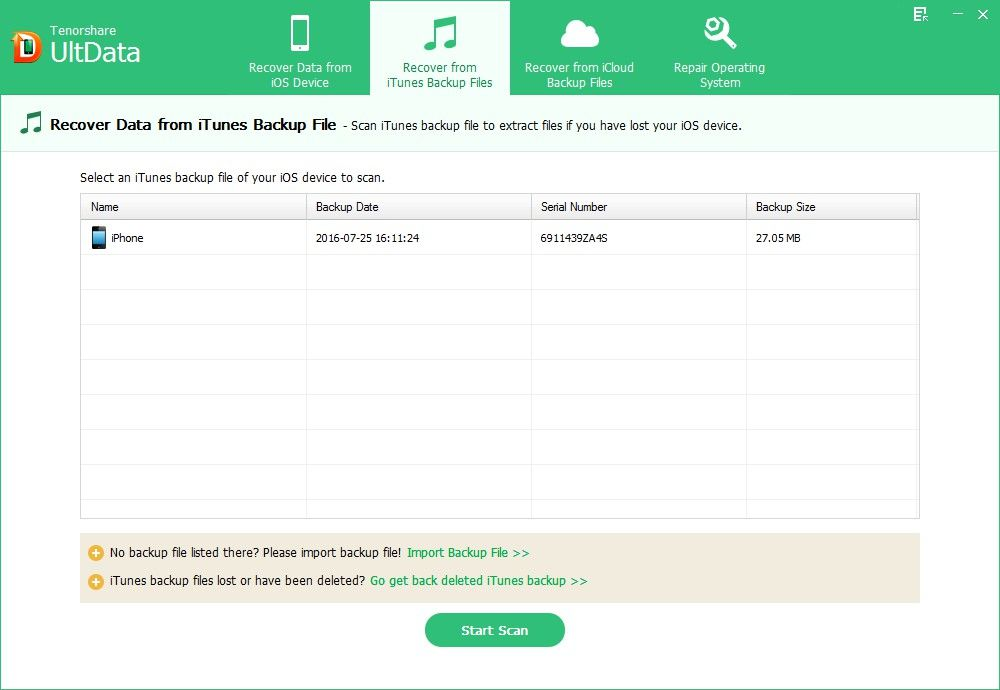 extract ipod touch 5 backup file