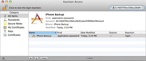 recover itunes backup password for ios 8 iphone