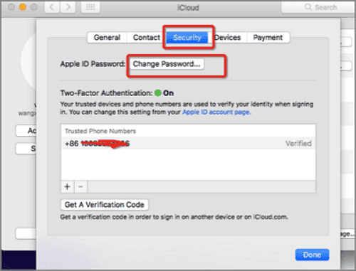 forgot itunes password and phone number