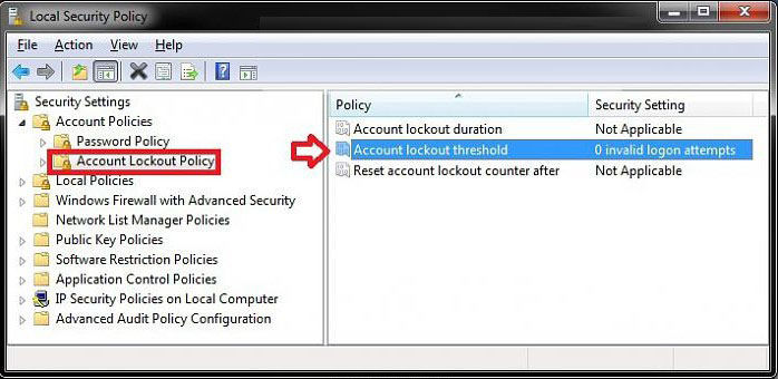 set account lockout threshold security
