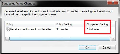set account lockout duration for locked out user accounts in windows 8